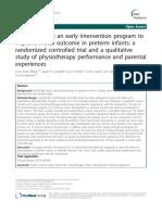 Øberg2012 Article StudyProtocolAnEarlyInterventi