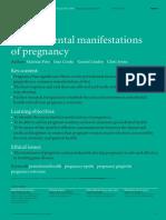 Embarazada. Manifestaciones Orales(1)