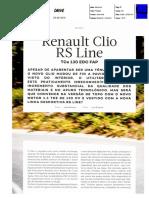 "NOVO RENAULT CLIO R.S. LINE TCe 130 EDC NA ""AUTODRIVE"""