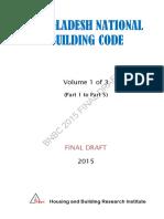 Bangladesh National Building Code 2015 (Volume 1 of 3)