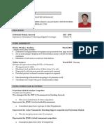 Syafiq Resume