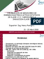 Calibradores de medidores de Energía Eléctrica
