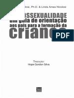 Homossexualidade - Guia de Orientação aos Pais