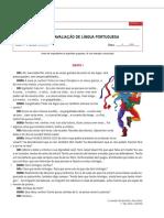 Testes 7º Ano Leandro Rei Da Helíria Com Soluções