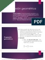 1.5 Progresión Geométrica