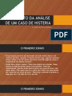 FRAGMENTO DA ANÁLISE DE UM CASO DE HISTERIA.pptx