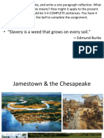 weebly unit 1a part 3 - jamestown   the chesapeake