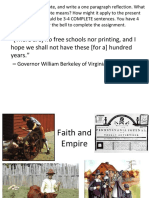 weebly unit 1a part 7 - faith and empire