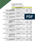 Costo de Produccion Rafael Lopez