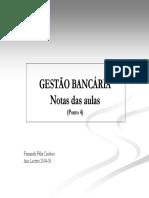 Gestao Bancaria apontamentos