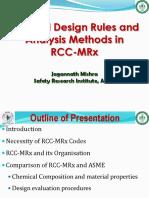 RCC-MRx-Design Rules and Analysis Methods