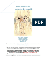 2019 jane austen regency ball