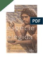 Arsuaga Ferreras Juan Luis - La Especie Elegida