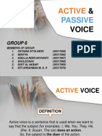 Group 6 - Active and Passive Voice - PPT