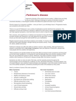 Parkinsons Background