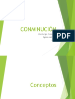 02 CONMINUCION Chancado-Molienda