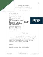 PubandPeople ABRA roll call hearing transcript 2019 08 26