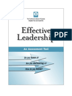 Effective Leadership - Templates