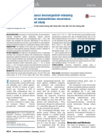 Postoperative Maintenance Levonorgestrel-releasing Intrauterine System and Endometrioma Recurrence - A Randomized Controlled Study