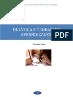 Didática e  teorias pedagógicas -Teorias de aprendizagem.pdf