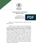 Sala Cas. Penal - SP10741-2017(41749)