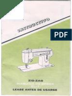 339367030 Manual de Maquina de Coser Liberty Zig Zag