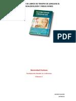 Catálogo Libro Terapia de Lenguaje 2019