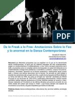 De lo freak a lo free. Danza.pdf