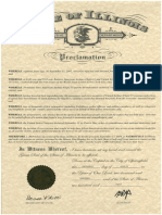 Patriot Day 2019 Proclamation