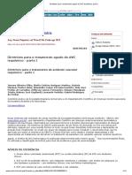Diretrizes para o tratamento agudo do AVC isquêmico_ parte I