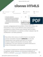 Validaciones HTML5 _ HTML en español.pdf