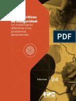 Puntos Críticos de Inseguridad-Un Tratamiento Diferentes a Los Problemas Persistentes