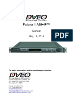 DVEO ENCODER-FuturaII_ASI+IP_Manual_25801