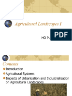 environmental and agriculture