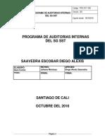 Pro-sst-005 Programa de Auditorias Internas