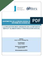 Duro informe de la UCA sobre la pobreza y el hambre