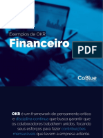 Financeiro - Exemplos de OKR