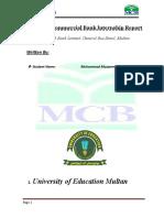 Muzmmil Report