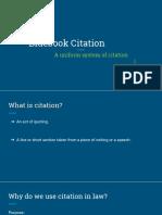 Bluebook Citation Orig