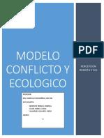 Modelo de Conflicto y Ecologico