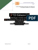 El Género, Ideología o Teoría Social Parte I Final(29072019)