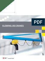 Slewing Jib Crane Catalogue