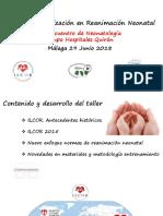 Dr. Enrique Salguero Taller Reanimacion Neonatal.