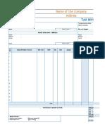 GST Invoice Formats
