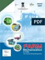 Farm Mechanization in India- The Custom Hiring Perspective