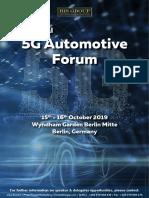 5G Automotive_2nd_Oct 2019_Berlin