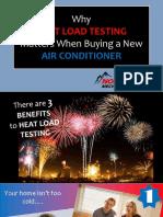 Heat Load Testing Slideshow