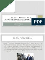 El Plan Colombia y La Desmovilización Paramilitar