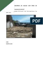 Estudio de Mecanica de Suelos- San Isidro
