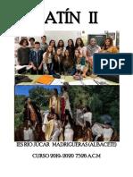 Cuaderno de Latín II 2019-2020